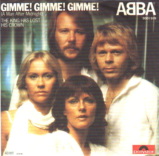 ABBA - Gimme Gimme Gimme Single