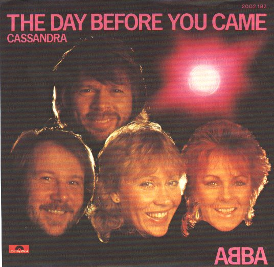 ABBA - The Day Before You Came LP