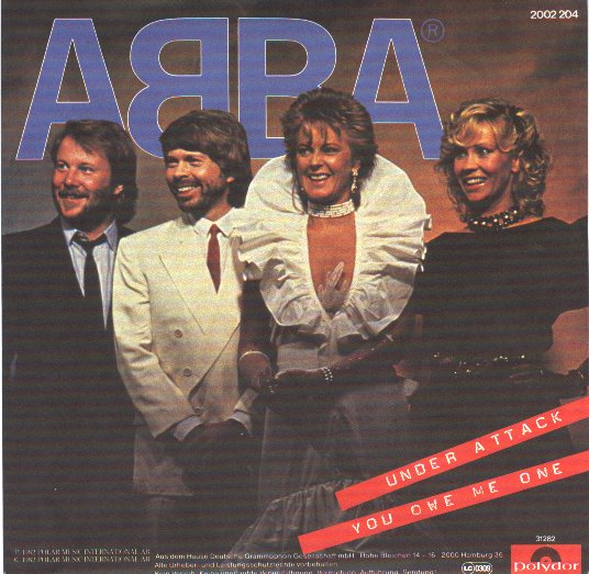 ABBA - Under Attack Single