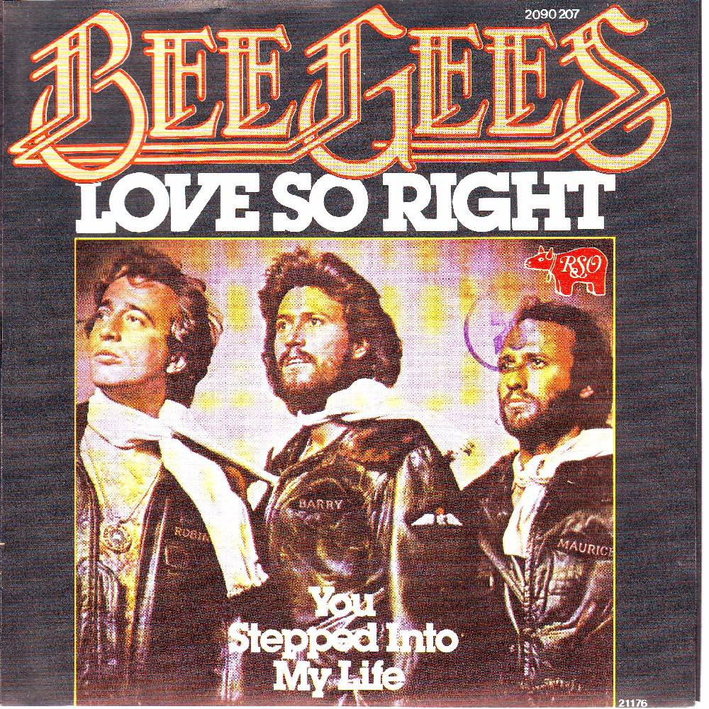 BEE GEES - Love So Right Record