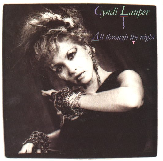 LAUPER, CYNDI - All Through The Night LP