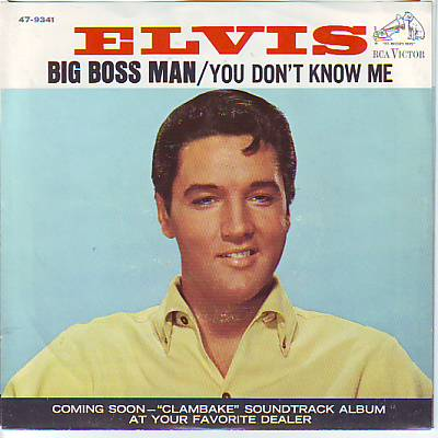 PRESLEY, ELVIS - You Don't Know Me