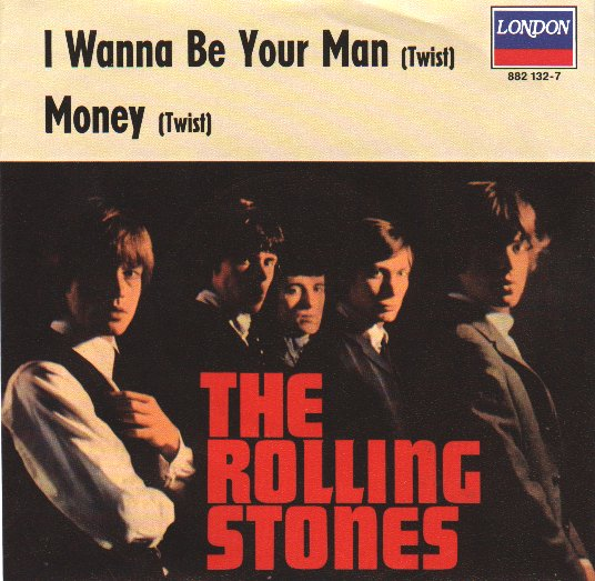 ROLLING STONES - I Wanna Be Your Man (pix. Slv.)