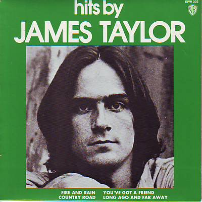 TAYLOR, JAMES - Fire And Rain And Country Road (pix. Slv.)