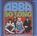 Picture of ABBA - SO LONG     (PIX. SLV.) (PIC SLV)