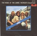 Picture of ABBA - THE NAME OF THE GAME (PIC SLV)
