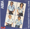 Picture of ABBA - THE WINNER TAKES IT ALL  (PIX. SLV.) (PIC SLV)