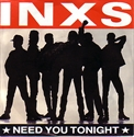 Picture of INXS - NEED YOU TONIGHT (PIC SLV)