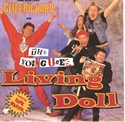 Picture of RICHARD, CLIFF & YOUNG ONES - LIVING DOLL (COMIC RELIEF VERSION) (PIX. SLV.) (PIC SLV)