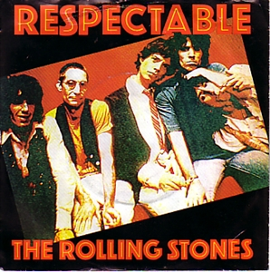 Picture of ROLLING STONES - RESPECTABLE   (PIX. SLV.) (PIC SLV)
