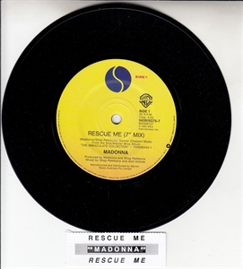Picture of MADONNA - RESCUE ME (PLAIN SLV-OZ PRESS)