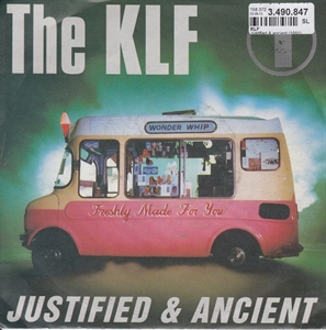 Picture of K.L.F. KLF - JUSTIFIED AND ANCIENT    (PIX SLV.)