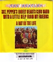 Picture of BEATLES - SGT. PEPPER'S + WITH A LITTLE HELP (PIC SLV)