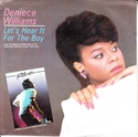 Picture of WILLIAMS, DENIECE - LET'S HEAR IT FOR THE BOY    (PIX SLV.) (PIC SLV)