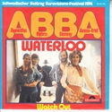 Picture of ABBA - WATERLOO   (GERMAN PIX #2040114) (PIC SLV)